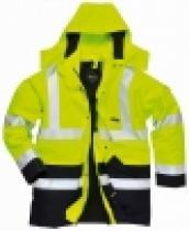 TAKOS Bunda GT16 GORE-TEX® Benbecula výstražná žlutá/tmavě modrá