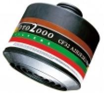 """Scott Safety Filtr PRO2000 CF32 A2B2E2K2 HgP3 se závitem 40 mm x 1,7"""""""