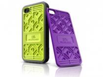 Musubo Sneaker Lime + Purple