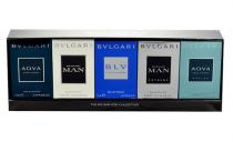 Bvlgari mini set EdT M - Edt 5ml Aqva Pour Homme + 5ml Edt MAN + 5ml Edt BLV + 5ml Edt MAN Extreme + 5ml Edt Aqva Marine