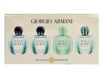 Giorgio Armani Mini Set EdT W - 2x5ml edp Acqua di Gioia + 5ml edt Acqua di Gioia + 5ml edt Acqua Di Gioia Eau Fraiche