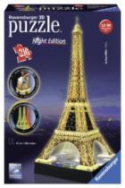 RAVENSBURGER 3D 216 dílků - Noční Eiffelova věž