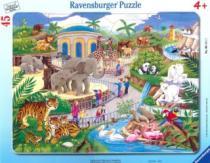 RAVENSBURGER - Návštěva v ZOO, 45 dílků