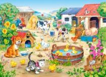 CASTORLAND 60 dílků - - Farma
