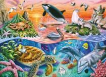 RAVENSBURGER 100 dílků - Nádherný oceán XXL