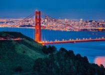 RAVENSBURGER 1000 dílků - Pohled na San Francisco (Gloss Effect)