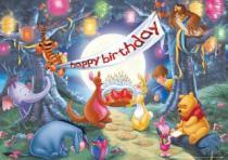 RAVENSBURGER 24 dílků - Medvídek Pú: Oslava narozenin
