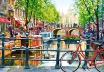 CASTORLAND 1000 dílků - Amsterdam