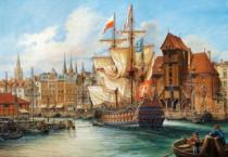 CASTORLAND 1000 dílků - Starý Gdaňsk