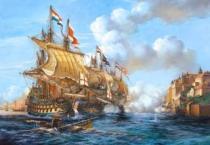 CASTORLAND 2000 dílků - Bitva o Porto Bello