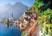 CASTORLAND 2000 dílků - Halštatské jezero, Rakousko