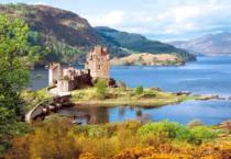CASTORLAND 2000 dílků - Hrad Eilean Donan, Skotsko