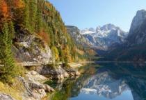 CASTORLAND 2000 dílků - Jezero Gosausee, Rakousko