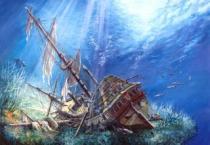 CASTORLAND 2000 dílků - Potopená galeona