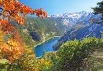 CASTORLAND 2000 dílků - Tmavomodré jezero v Alpách