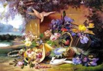 CASTORLAND 2000 dílků - Zátiší s květinami