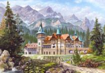 CASTORLAND 3000 dílků - Hrad na úpatí hor