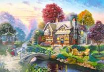CASTORLAND 3000 dílků - Podzimní scenérie