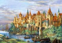 CASTORLAND 3000 dílků - Rothenburg
