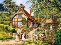 CASTORLAND 3000 dílků - Rozkvetlá zahrada