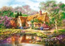 CASTORLAND 3000 dílků - Soumrak u rybníka