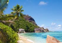 CASTORLAND 3000 dílků - Tropická pláž, Seychely