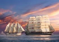 CASTORLAND 500 dílků - Plavba při západu slunce