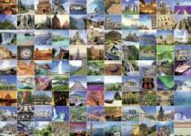 RAVENSBURGER 1000 dílků - 99 nádherných míst na Zemi