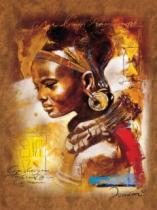 RAVENSBURGER 1000 dílků - Africká dívka