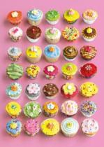 RAVENSBURGER 1000 dílků - Barevné dortíky (Cupcakes)