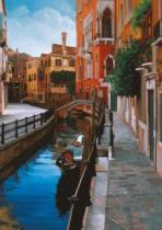 RAVENSBURGER 1000 dílků - Dojmy z Benátek
