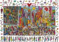 RAVENSBURGER 1000 dílků - James Rizzi, Times Square