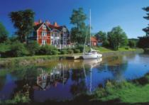 RAVENSBURGER 1000 dílků - Kanál Gota, Švédsko