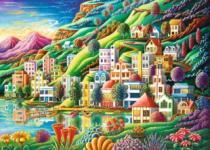 RAVENSBURGER 1000 dílků - Městečko snů