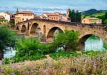 RAVENSBURGER 1000 dílků - Město Puente la Reina