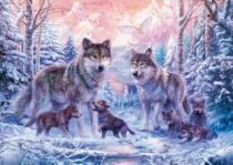 RAVENSBURGER 1000 dílků - Polární vlci