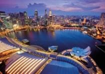 RAVENSBURGER 1000 dílků - Singapur