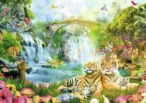 RAVENSBURGER 1000 dílků - Tygří jeskyně