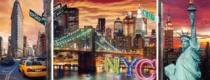 RAVENSBURGER 1000 dílků - Zářivý New York