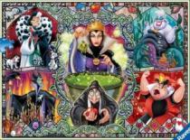 RAVENSBURGER 1000 dílků - Zlé ženy z Disneyho pohádek
