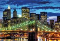 RAVENSBURGER 1500 dílků - Noční New York