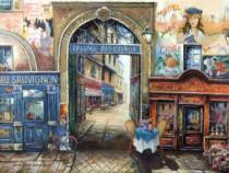RAVENSBURGER 1500 dílků - Pařížská ulice