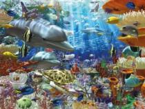 RAVENSBURGER 1500 dílků - Zázraky v hlubinách moře