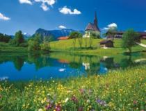 RAVENSBURGER 2000 dílků - Inzell, Bavorsko
