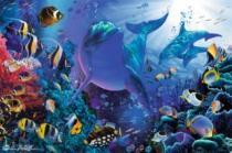 RAVENSBURGER 3000 dílků - Ch. R. Lassen, Zářivý podmořský svět