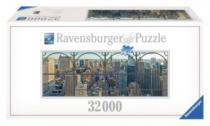 RAVENSBURGER 32000 dílků - Pohled na New York (2.největší puzzle)
