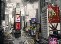 RAVENSBURGER 500 dílků - Pohled na Times Square, NYC