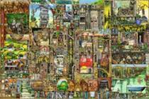 RAVENSBURGER 5000 dílků - Bizarní město (Colin Thompson)