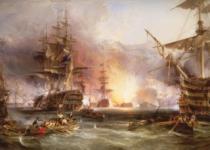 RAVENSBURGER 9000 dílků - Námořní bitva u Alžíru