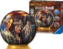 RAVENSBURGER Puzzleball 240 dílků - Piráti z Karibiku